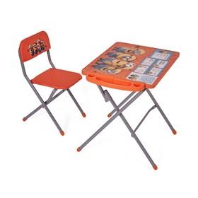 Комплект детской мебели Polini kids 303 Гадкий я, цвет оранжевый Ош