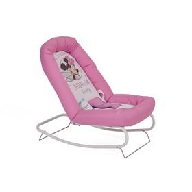 Шезлонг Polini kids Disney baby «Минни Маус», цвет розовый Ош
