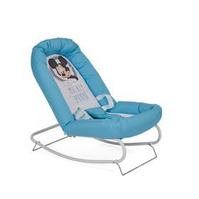 Шезлонг Polini kids Disney baby «Микки Маус», цвет голубой Ош