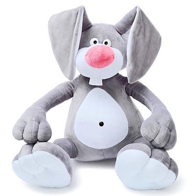 Мягкая игрушка «Кролик Эрни», 62 см, цвет серый - Фото 1