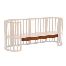 Опорная планка для кроватки детской Polini kids Simple 910, цвет орех Ош