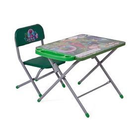 Комплект детской мебели Polini kids 103 Тролли, цвет зелёный Ош