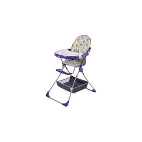 Стульчик для кормления Selby 252 «Совы», цвет фиолетовый