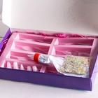 УЦЕНКА Подарочный набор кондитерский для эклеров «Счастье в эклерах»: мешок кондитерский с насадками 6 шт., кондитерская посыпка 20 г., форма для эклеров - Фото 2