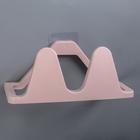Подставка для обуви настенная 24×11,5×10 см, цвет розовый