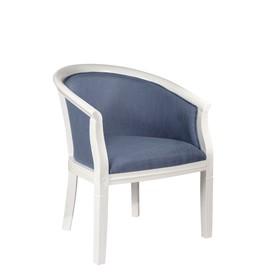 Кресло Р602, 630 х 480 х 760 мм, каркас массив гевеи, ткань рогожка F-12
