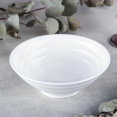 Салатник, 780 мл, цвет белый - Фото 1