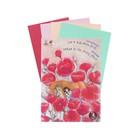 Папка для пастели А4, «Страна чудес. Сон в маковом поле», 8 листов, 4 цвета, блок 160 г/м?