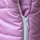 Конверт утепленный Зайчик, цвет розовый - Фото 4