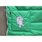Конверт демисезонный в коляску «Зайчик», цвет зелёный - Фото 4