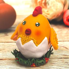 Набор для творчества. Декор яиц полимерной глиной «Цыпленок в скорлупе» Ош