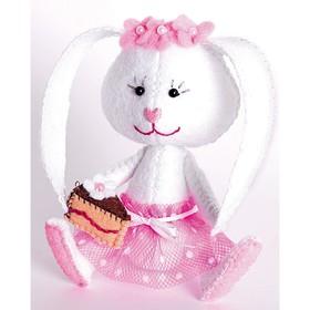 """Набор для шитья текстильной игрушки """"Зайка Сластёна"""" 11,5 см"""