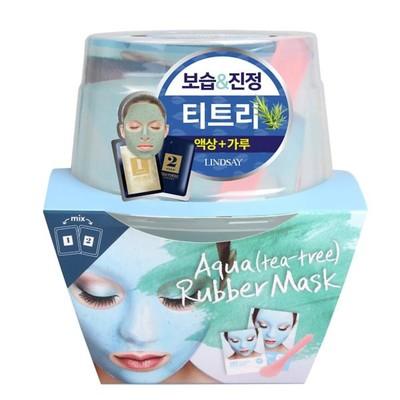 Альгинатная маска для лица премиум класса Luxury AQUA (tea tree) Magic Mask Cup Pack на основе чайного дерева, 120 г