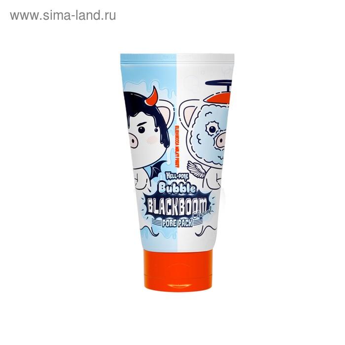 Кислородная маска для лица Elizavecca Hell Pore Bubble Black Boom, для очищения пор, 150 мл