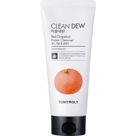 Пенка для умывания Tony Moly Clean Dew Red Grapefruit Foam Cleanser с экстрактом грейпфрута, 180 мл