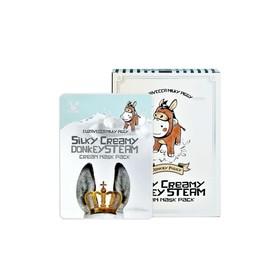 Маска для лица Elizavecca Silky Creamy Domkey Steam Cream Mask Pack, с паровым кремом, 25 мл