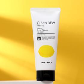 Пенка для умывания Tony Moly Clean Dew Lemon Foam Cleanser с экстрактом лимона, 180 мл
