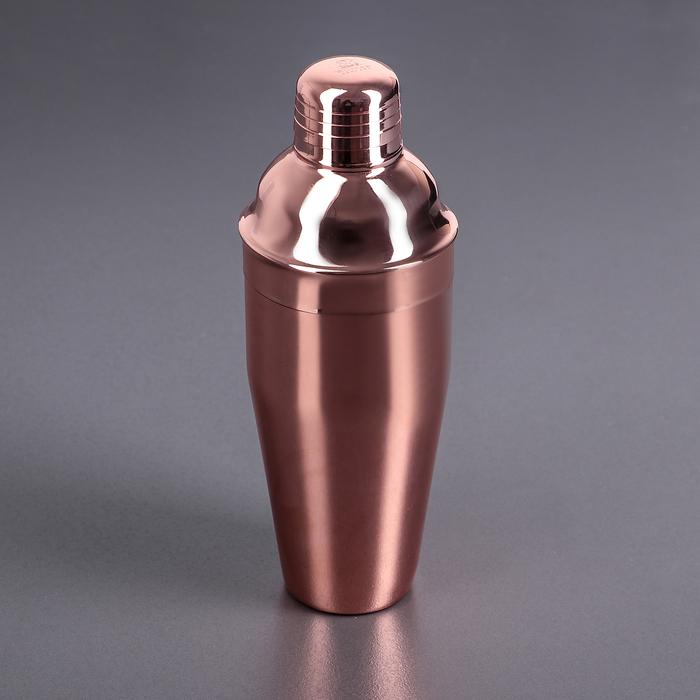 Шейкер 700 мл цвет медный WL-552012 / A
