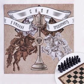 Шахматы «Сила», р-р поля 15 х 15 см Ош