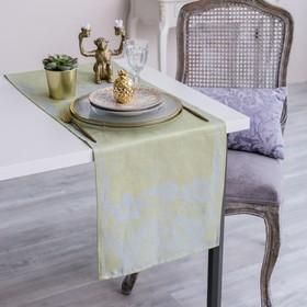 Дорожка на стол Этель Лён «Клеменс» 35×145 ± 3 см, 100% лён Ош