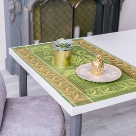 Дорожка на стол «Лилиан», Этель: Лён, 50 × 70 ± 3 см, 100 % лён Ош