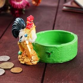 Монетница 'Строгий петушок', 7.5х12 см Ош