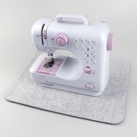 Коврик под швейную машину, цвет серый
