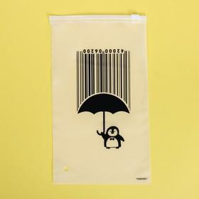 Пакет для хранения вещей «Под защитой», 14.5 × 25 см Ош