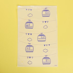 Пакет для хранения вещей «Изучаем мир», 24 × 36 см