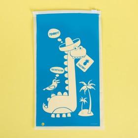 Пакет для хранения вещей «Полетели!», 14.5 × 25 см Ош