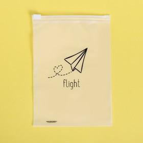 Пакет для хранения вещей вертикальный Flight, 9 × 16 см Ош