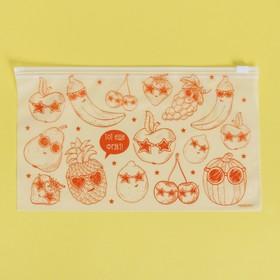 Пакет для хранения еды «Тот ещё фрукт», 25 × 14.5 см Ош
