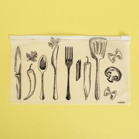 Пакет для хранения еды «Шедевры кулинарии», 25 × 14.5 см