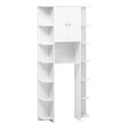 Стеллаж №С03 для ванной комнаты 30 х 88 х 200 см
