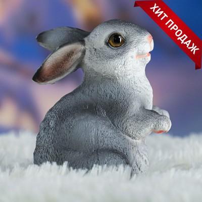 "Садовая фигура ""Кролик"" 10х8х12см - Фото 1"