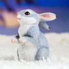 "Садовая фигура ""Кролик"" 10х8х12см - Фото 10"