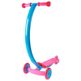 Самокат стальной, колеса PVC d=120/80 мм, ABEC 7, цвет розовый Ош