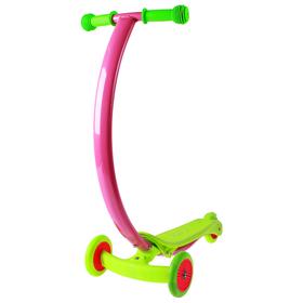 Самокат стальной, колеса PVC d=120/80 мм, ABEC 7, цвет зеленый Ош