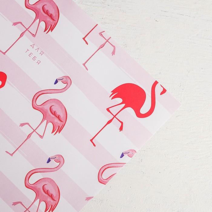Бумага упаковочная крафтовая Only for you , 50 70 см