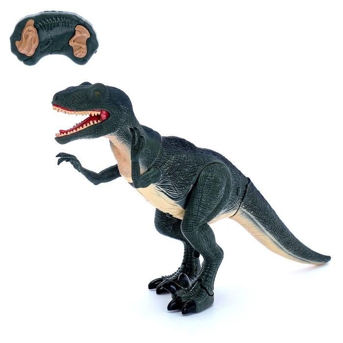 """Животное радиоуправляемое """"Динозавр"""", световые и звуковые эффекты, В ПАКЕТЕ"""
