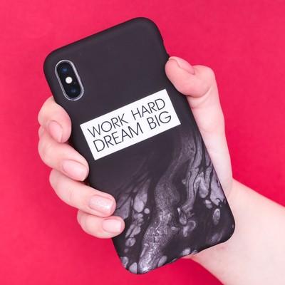 Чехол для телефона iPhone X/XS Dream big, 14.5 × 7 см - Фото 1