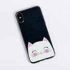 Чехол для телефона iPhone X/XS «Котик», 14.5 × 7 см - Фото 2