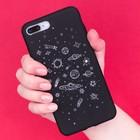 Чехол для телефона iPhone 7 Plus/8 Plus «Космос» soft touch, 16 ? 8 см