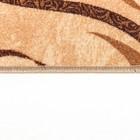 Палас САЛЬТО, размер 80х125 см, цвет бежевый 17/23 войлок 195 г/м2 - Фото 2