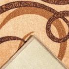 Палас САЛЬТО, размер 80х125 см, цвет бежевый 17/23 войлок 195 г/м2 - Фото 3
