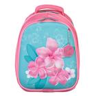 Рюкзак каркасный Calligrata, 38 x 30 x 16 см, для девочки, «Цветочное натсроение», розовый