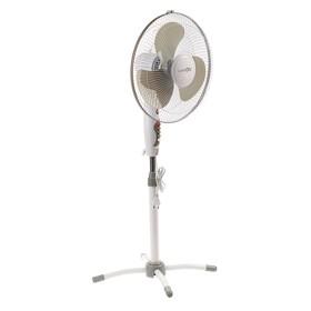 Вентилятор LuazON LOF-02, напольный, 45 Вт, 35 см, 3 режима, бело-серый