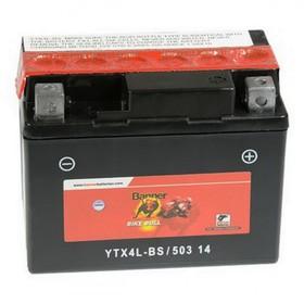 Аккумуляторная батарея Banner Bike Bull 3 Ач 50314 (YTX4L-BS) Ош