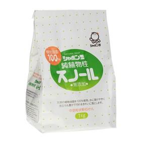 Натуральное порошковое мыло ShabondaMa Сноул для стирки белья с кондиционером, 1 кг