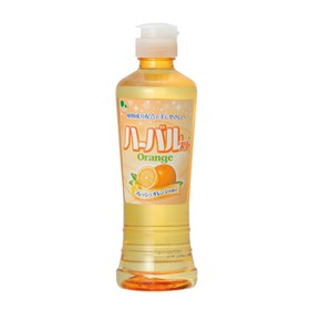 Концентрированное средство для мытья посуды, овощей и фруктов Mitsuei с ароматом апельсина, 270 мл